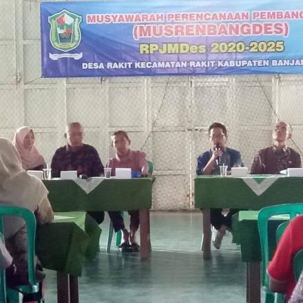 Musyawarah Perencanaan Pembangunan Desa RPJMDesa Rakit Tahun 2020-2025